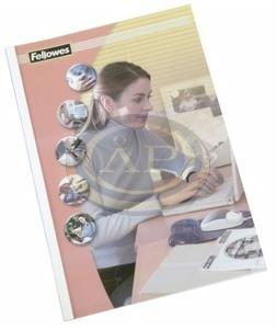 Hőkötő borító Fellowes Standing 1,5 mm, 1-10 lapig, fehér