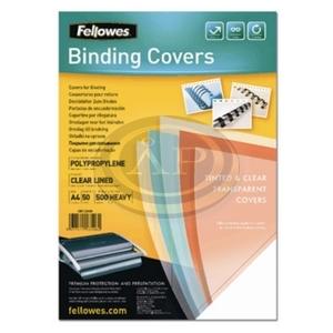 Fellowes víztiszta előlap, A4/150 mikron 100db/csomag