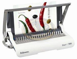Spirálozógép Fellowes Star+ 150 manuális műanyag spirálkötéshez