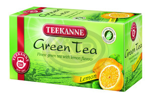 Tea Teekanne Green Tea Lemon (zöld tea citrom) 20x1,75g