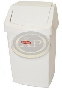 Billenős szemetes CURVER Click-It, 25 literes, fehér