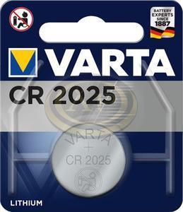 Varta CR2025 gombelem, lithium