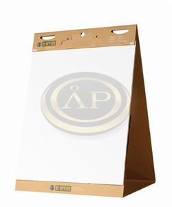 Asztali flipchart papír, öntapadó, 20 lap, 58,5x50 cm